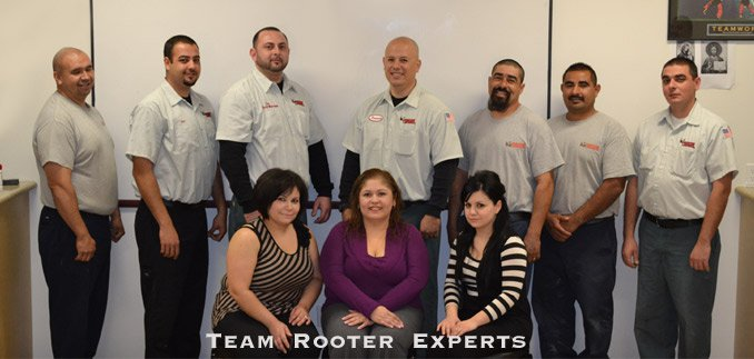 rooter experts team photo