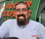 rooter employee with beard